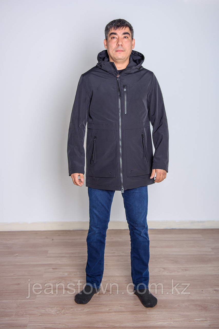 Куртка мужская демисезонная Kings Wind черная - фото 2