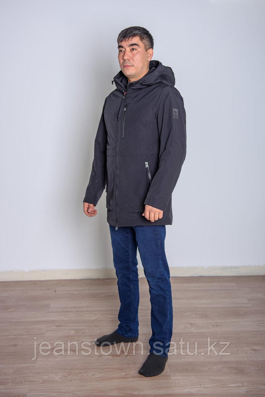 Куртка мужская демисезонная Kings Wind черная - фото 3