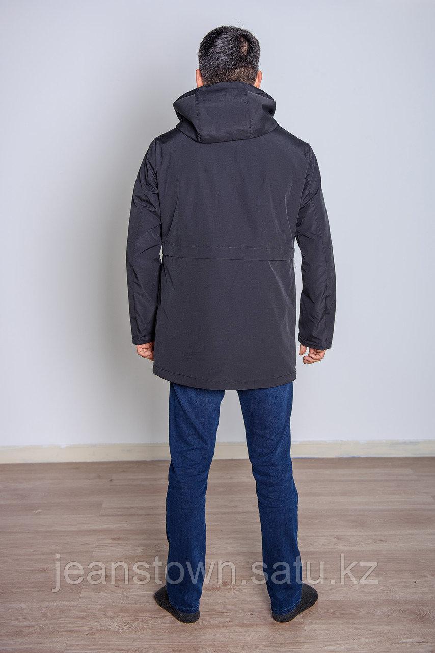 Куртка мужская демисезонная Kings Wind черная - фото 4