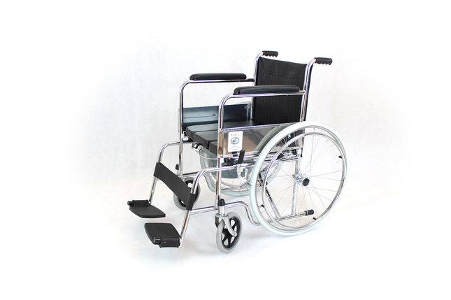 Коляска для инвалидов со стульчаком модель fs609-46 (4453), фото 2