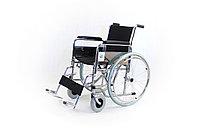 Инвалидная коляска с полиуретановыми колесами модель fs901-46 (4601)