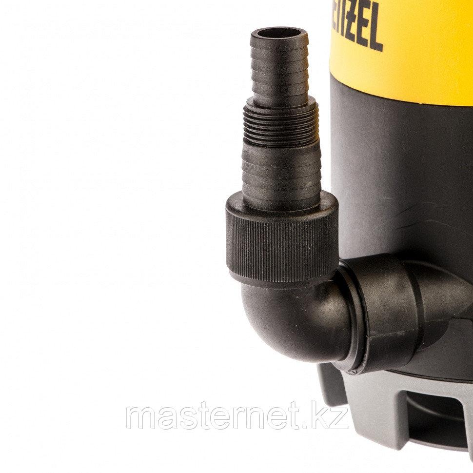 Дренажный насос для чистой и грязной воды DP-450S, 450 Вт, напор 6 м, 12000 л/ч// Denzel - фото 5