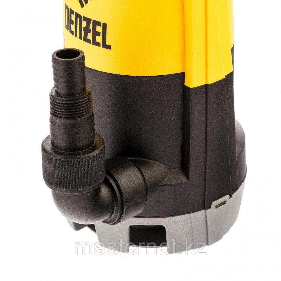 Дренажный насос для чистой и грязной воды DP-450S, 450 Вт, напор 6 м, 12000 л/ч// Denzel - фото 6