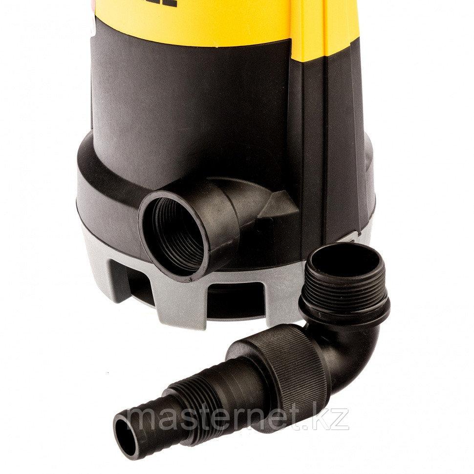 Дренажный насос для чистой и грязной воды DP-450S, 450 Вт, напор 6 м, 12000 л/ч// Denzel - фото 7