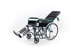 Коляска для инвалидов с регулируемой спинкой модель fs954gc-46 (4642), фото 3