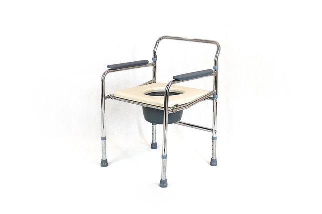 Складной стул-туалет модель fs896-44, фото 2