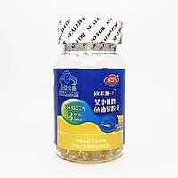 Мягкие капсулы рыбьего жира Омега- 3 Ai Shente 60 капсул