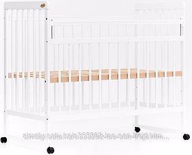 Кровать детская Bambini Евро стиль(белая,слоновая кость)