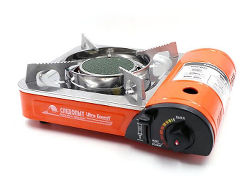 Плита наст. газовая СЛЕДОПЫТ - UltraEnergy  керам.