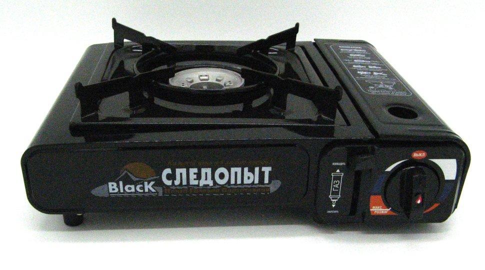 Настольная газовая плита Следопыт-BlacK