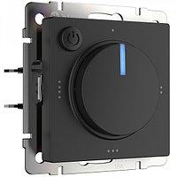 Терморегулятор электромеханический для теплого пола /W1151108 (черный)