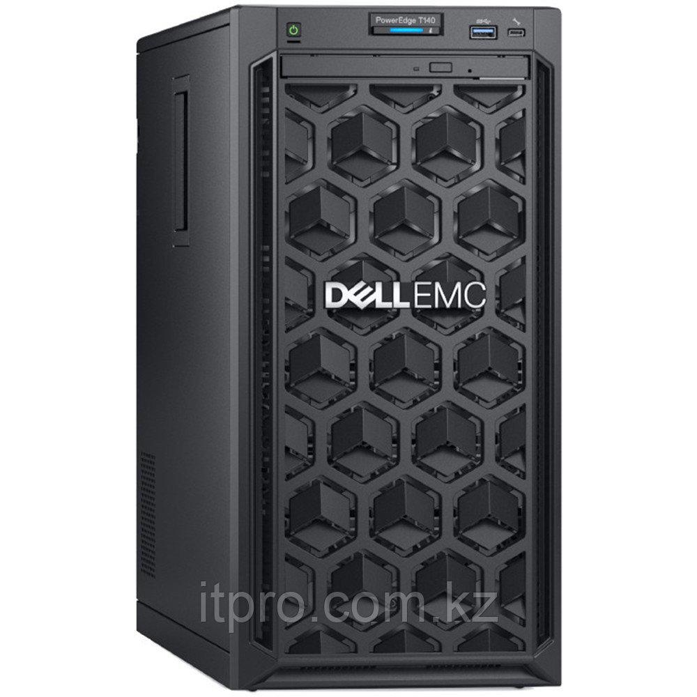 "Сервер Dell PowerEdge T140 PET140RU2-04 (Tower, Xeon E-2224, 3400 МГц, 4 ядра, 8 МБ, 1x 16 ГБ, LFF 3.5"", 4 шт,"