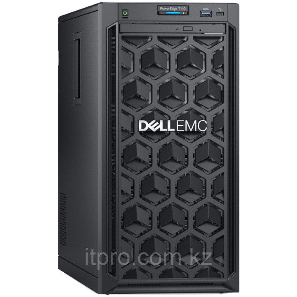 Сервер Dell PowerEdge T140 MEA_T140_VI_VP-210-AQSP_B01 (Tower, Xeon E-2134, 3500 МГц, 4 ядра, 8 МБ, 1x 16 ГБ,