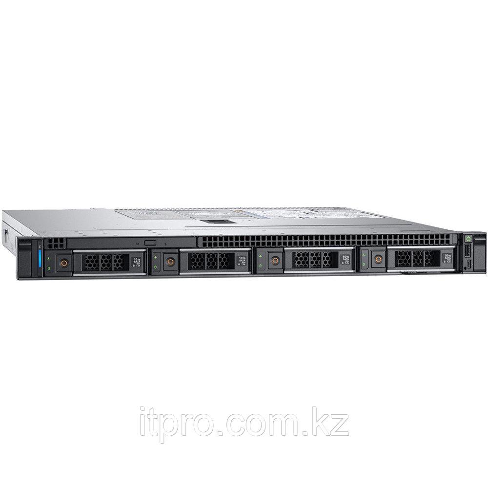 Сервер Dell PowerEdge R340 PER340CEEM01-210-AQUB-C (1U Rack, Xeon E-2224, 3400 МГц, 4 ядра, 8 МБ, 1x 16 ГБ,