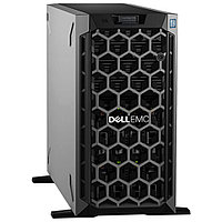 Сервер Dell PowerEdge T340 210-AQSN_8194 (Tower, Xeon E-2226G, 3400 МГц, 6 ядер, 12 МБ, 1x 16 ГБ, SFF + LFF
