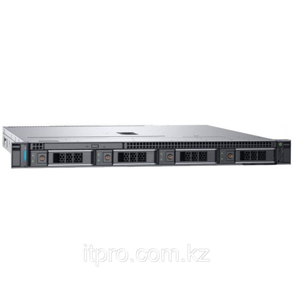Сервер Dell PowerEdge R240 PER240RU2-01-NC2 (1U Rack, Xeon E-2236, 3400 МГц, 6 ядер, 12 МБ, 1x 16 ГБ, LFF
