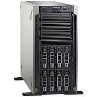 "Сервер Dell PowerEdge T340 PET340RU1-04 (Tower, Xeon E-2224, 3400 МГц, 4 ядра, 8 МБ, 1x 16 ГБ, SFF 2.5"", 8 шт,"