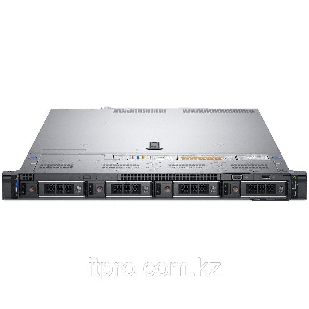 "Сервер Dell PowerEdge R440 210-ALZE-220-003 (1U Rack, Xeon Silver 4215, 2500 МГц, 8 ядер, 11 МБ, LFF 3.5"", 4"