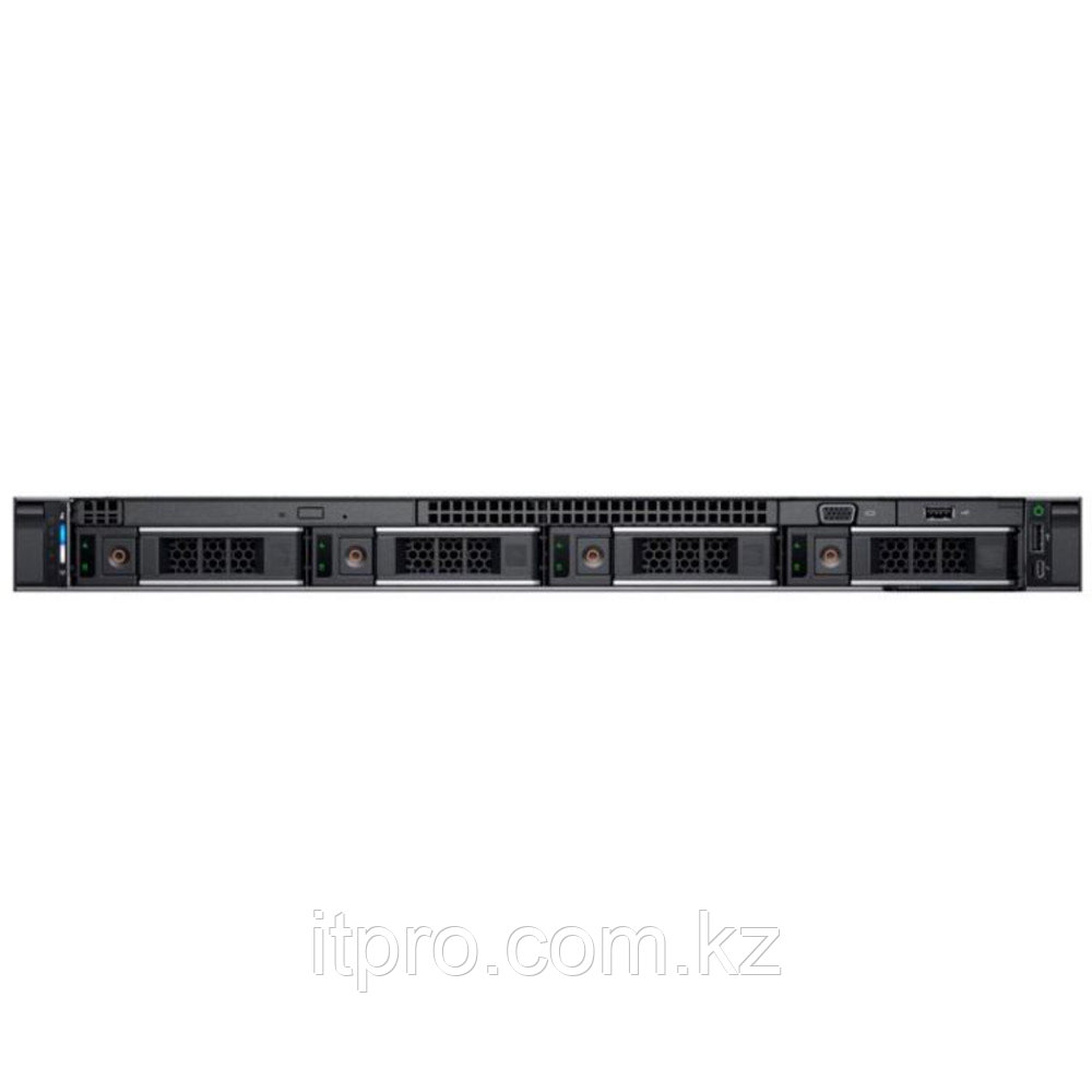Сервер Dell PowerEdge R440 R440-5201-12 (1U Rack, Xeon Silver 4116, 2100 МГц, 12 ядер, 16.5 МБ, 1x 16 ГБ, LFF
