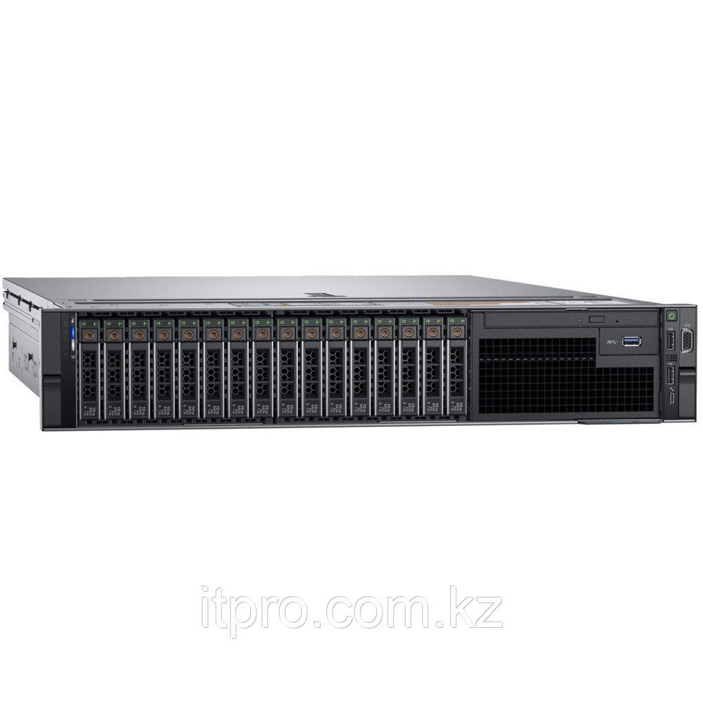 Сервер Dell PowerEdge R740 210-AKXJ-351 (2U Rack, Xeon Silver 4210R, 2400 МГц, 10 ядер, 13.75 MБ, 2x 32 ГБ,