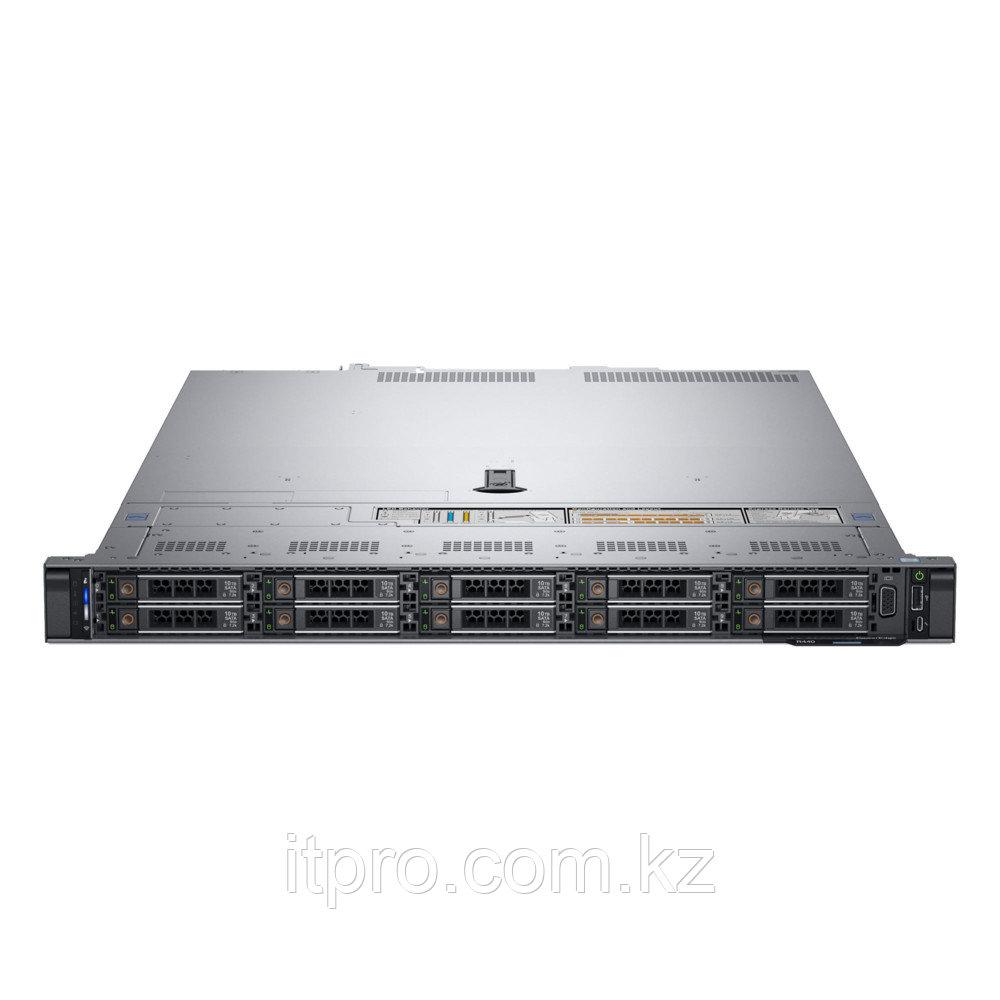 Сервер Dell PowerEdge R440 210-ALZE-162 (1U Rack, Xeon Bronze 3204, 1900 МГц, 6 ядер, 8.25 МБ, 2x 16 ГБ, SFF