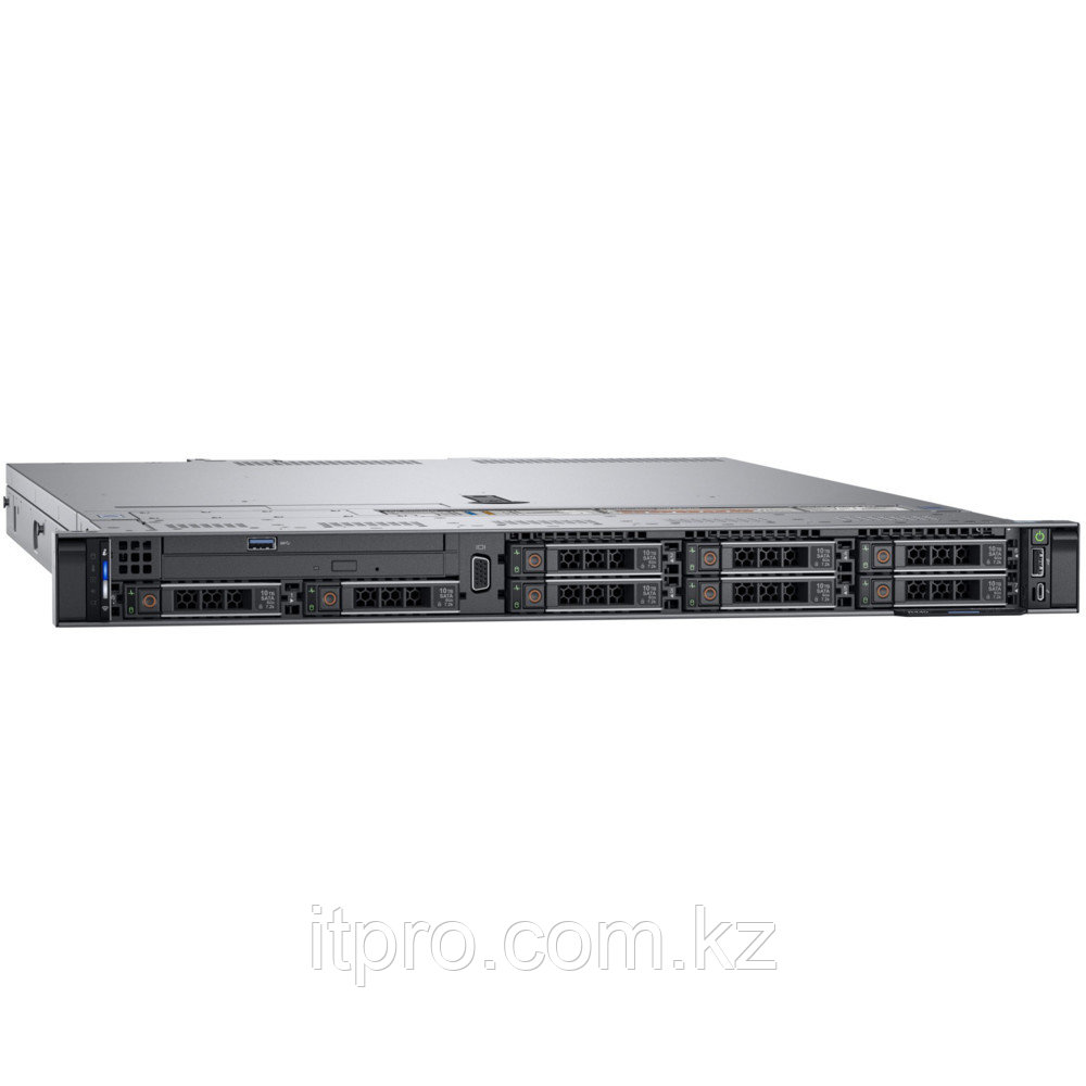 Сервер Dell PowerEdge R640 210-AKWU-626 (1U Rack, Xeon Gold 6230R, 2100 МГц, 26 ядер, 35.75 МБ, 1x 16 ГБ, SFF