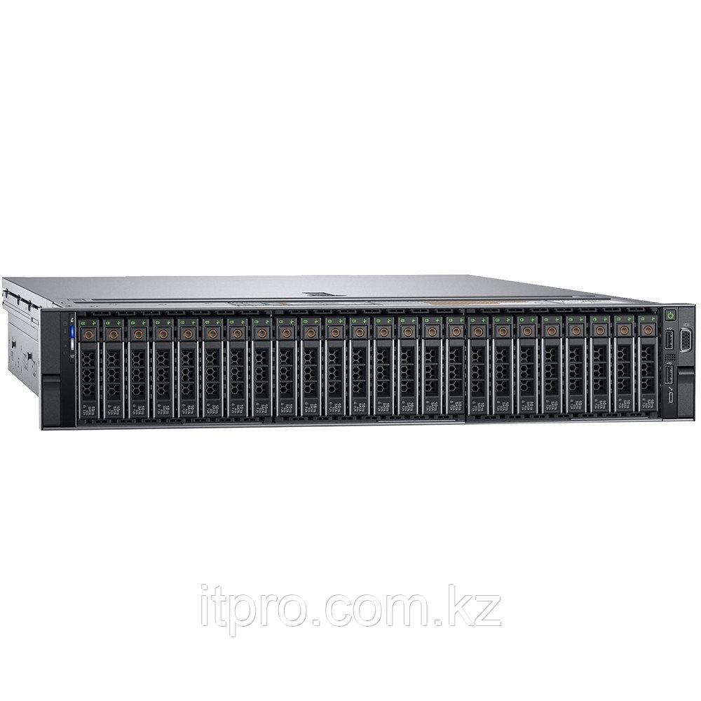 Сервер Dell PowerEdge R740XD 210-AKZR-382 (2U Rack, Xeon Silver 4210R, 2400 МГц, 10 ядер, 13.75 MБ, 1x 16 ГБ,