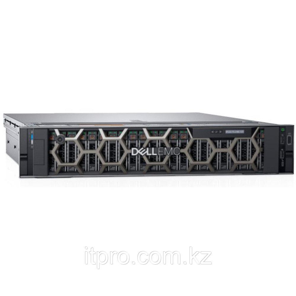 Сервер Dell PowerEdge R740xd 210-AKZR-231 (2U Rack, Xeon Silver 4214, 2200 МГц, 12 ядер, 16.5 МБ, 8x 32 ГБ,