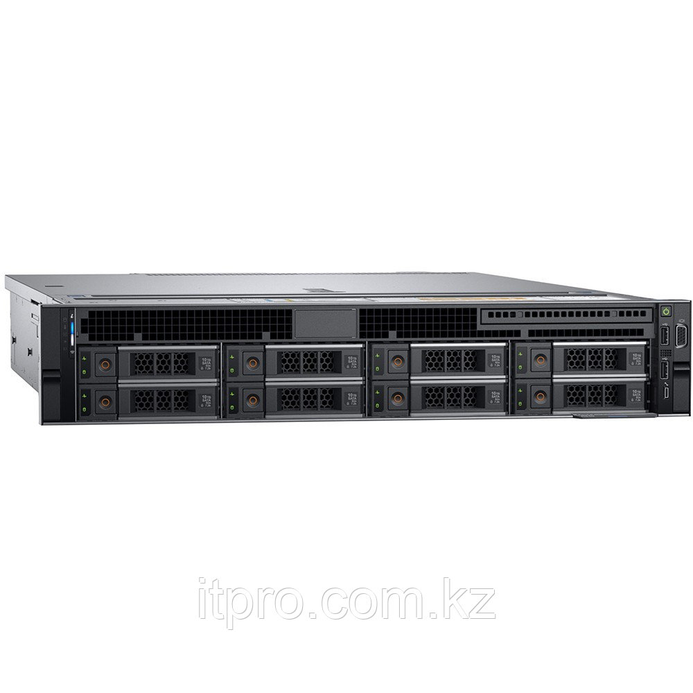 Сервер Dell PowerEdge R740 210-AKWU_bundle636 (2U Rack, Xeon Gold 6248R, 3000 МГц, 24 ядра, 35.75 МБ, LFF
