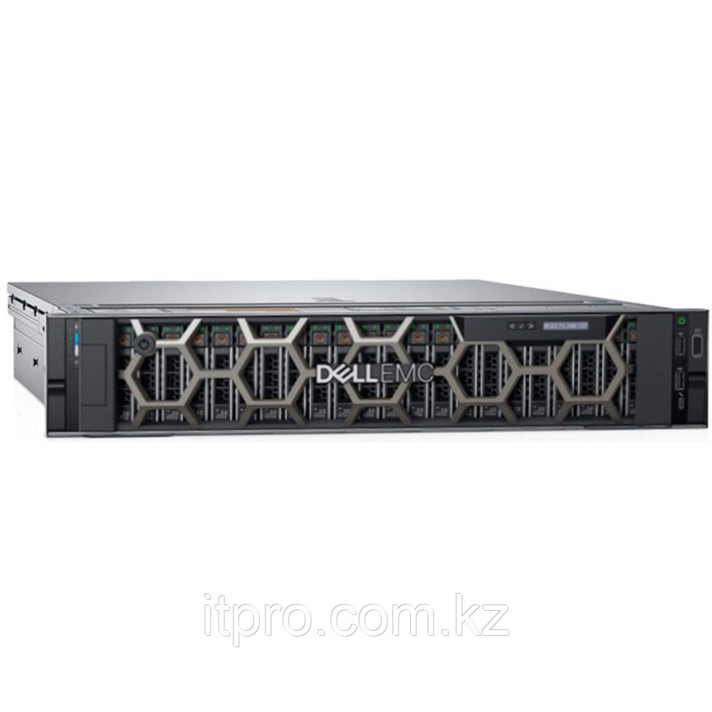 Сервер Dell PowerEdge R740XD PER740XDRU3-09 (2U Rack, Xeon Silver 4210R, 2400 МГц, 10 ядер, 13.75 MБ, 1x 16