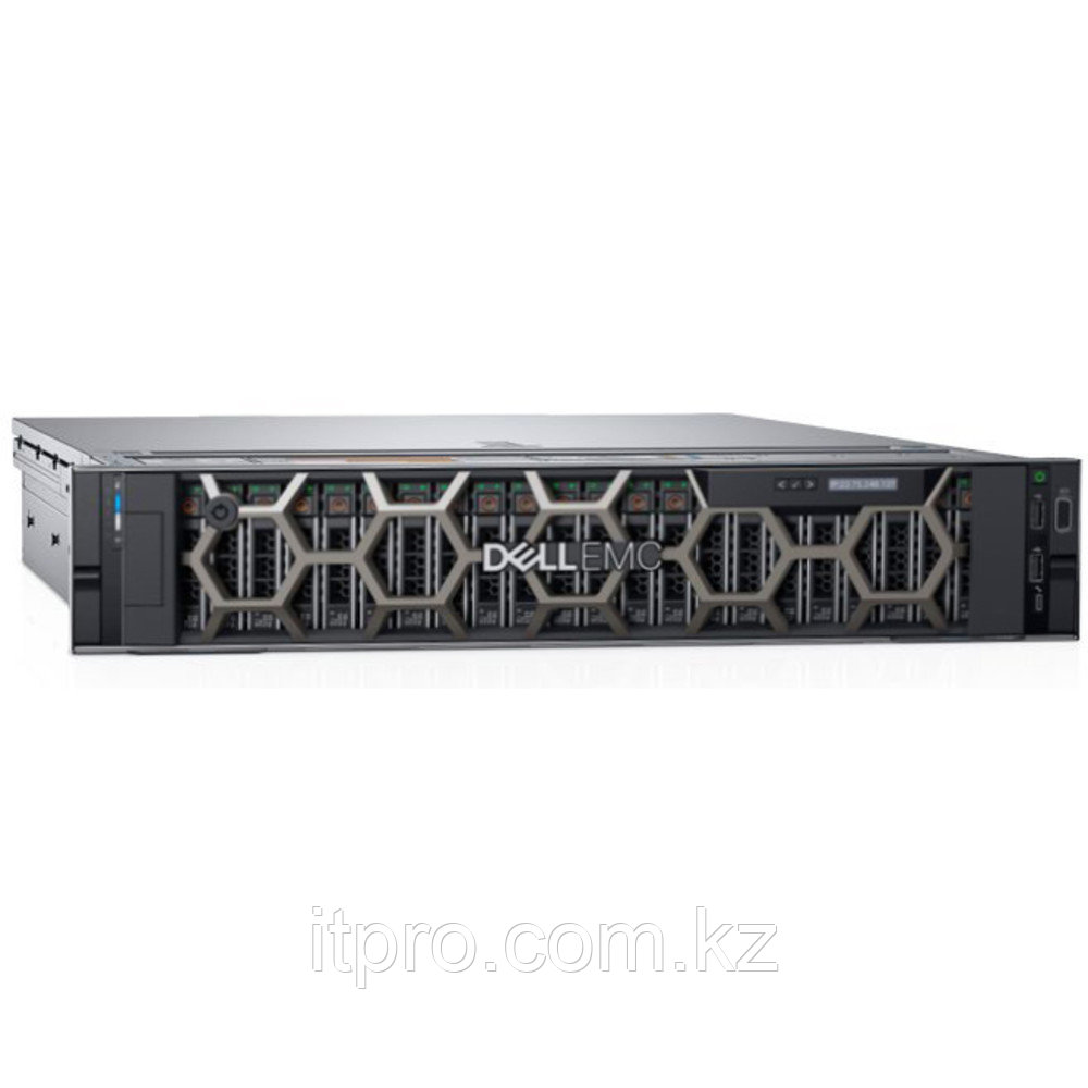Сервер Dell PowerEdge R740xd 210-AKZR-138 (2U Rack, Xeon Gold 5220, 2200 МГц, 18 ядер, 24.75 МБ, 2x 16 ГБ, SFF