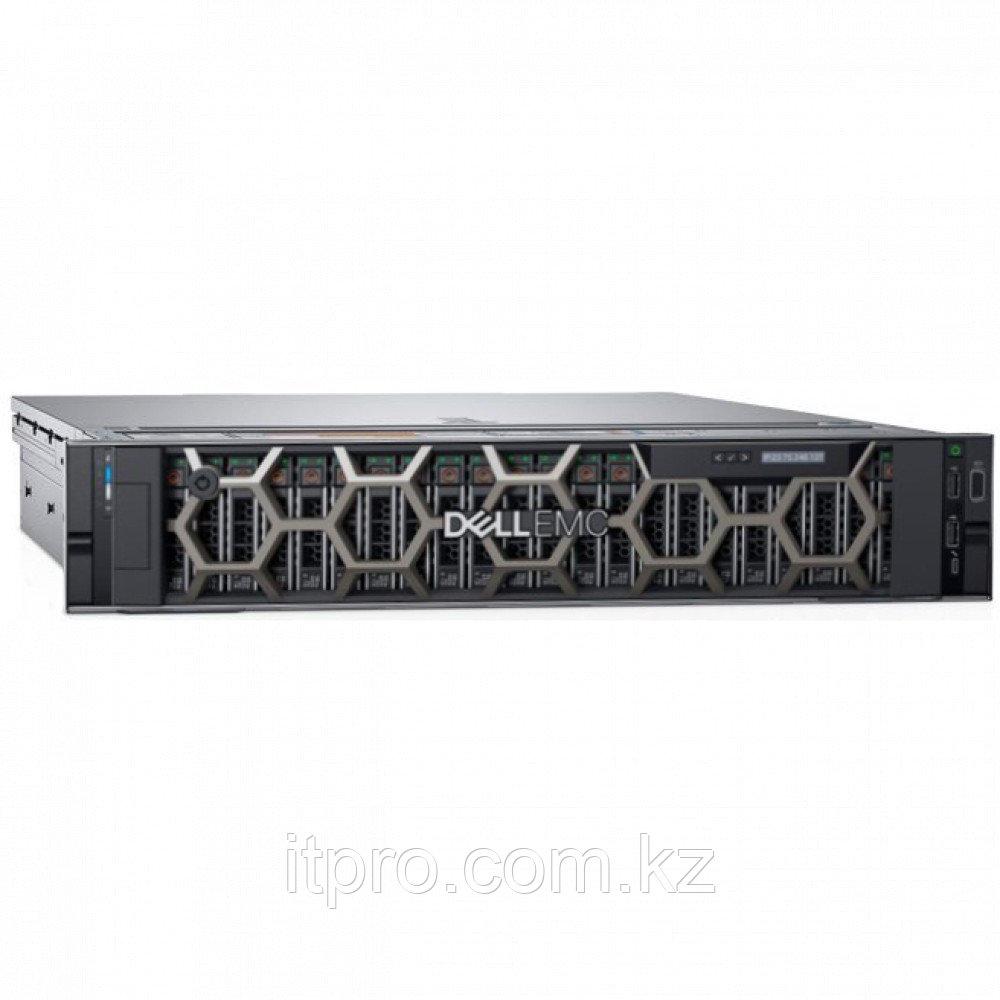 Сервер Dell PowerEdge R740XD PER740XDRU2 (2U Rack, Xeon Silver 4210R, 2400 МГц, 10 ядер, 13.75 MБ, 2x 16 ГБ,