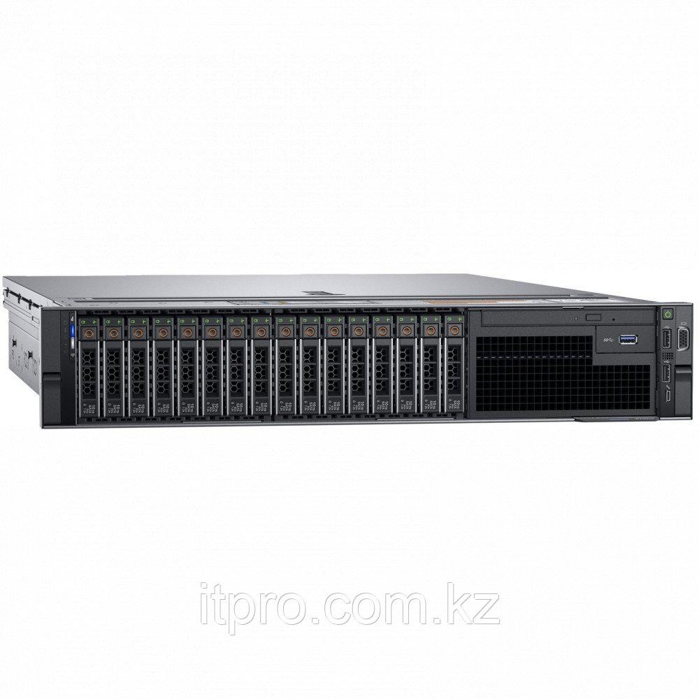Сервер Dell PowerEdge R740 PER740RU3-02 (2U Rack, Xeon Gold 6246R, 3400 МГц, 16 ядер, 35.75 МБ, 24x 64 ГБ, SFF