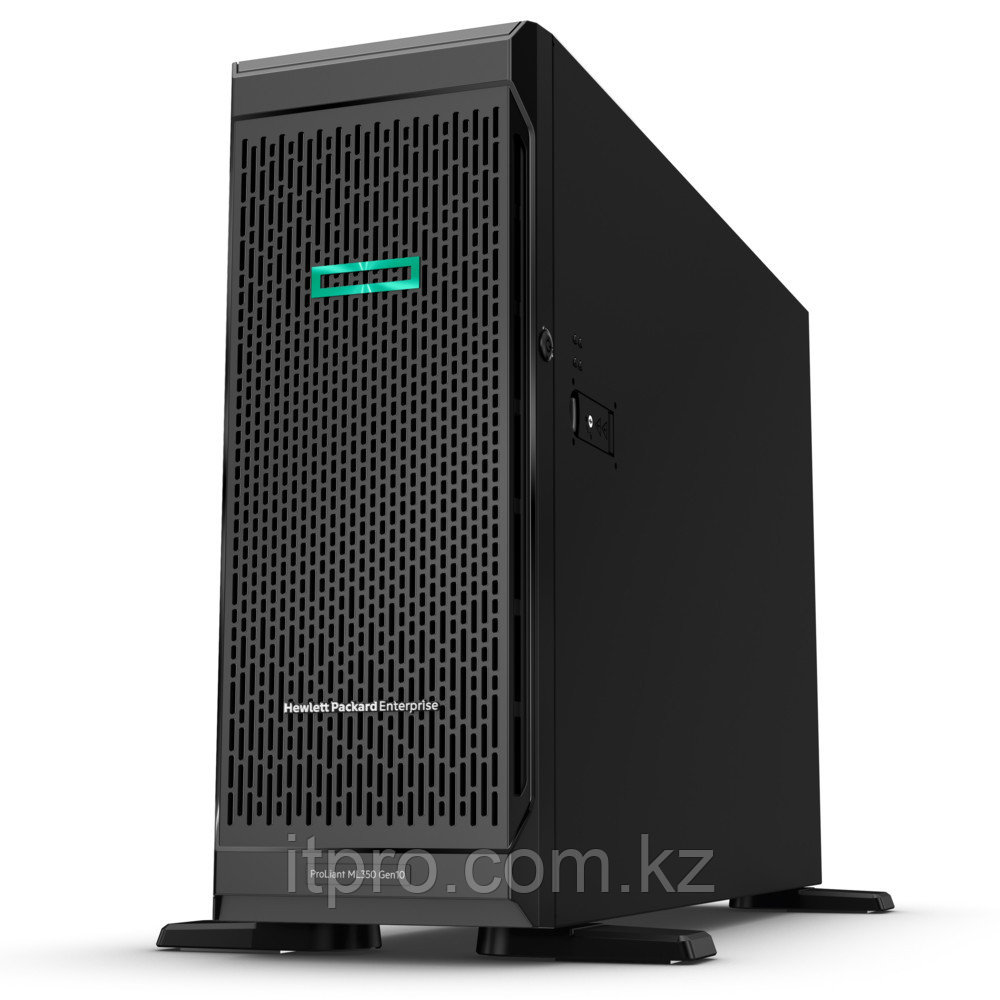 Сервер HPE ProLiant ML350 Gen10 877621-421 (Tower, Xeon Silver 4110, 2100 МГц, 8 ядер, 11 МБ, 1x 16 ГБ, SFF