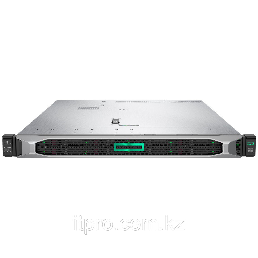 Сервер HPE ProLiant DL360 Gen10 P01880-B21 (1U Rack, Xeon Bronze 3104, 1700 МГц, 6 ядер, 8.25 МБ, 1x 8 ГБ, LFF