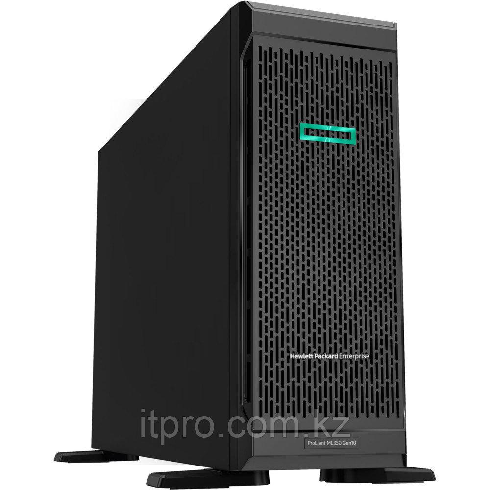 "Сервер HPE ML350 Gen10 P21788-421 (Tower, Xeon Silver 4210R, 2400 МГц, 10 ядер, 13.75 MБ, 1x 16 ГБ, SFF 2.5"","