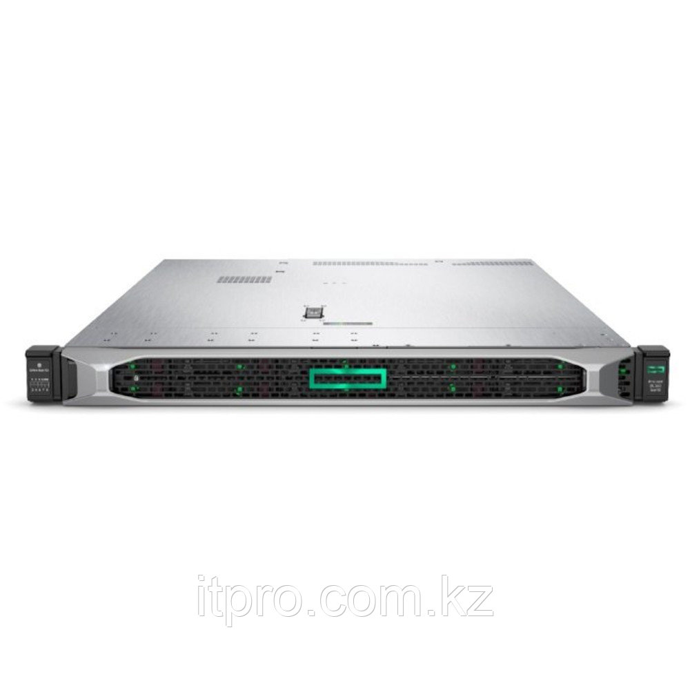 Сервер HPE ProLiant DL360 Gen10 P19777-B21 (1U Rack, Xeon Gold 5218, 2300 МГц, 16 ядер, 22 МБ, 1x 32 ГБ, SFF