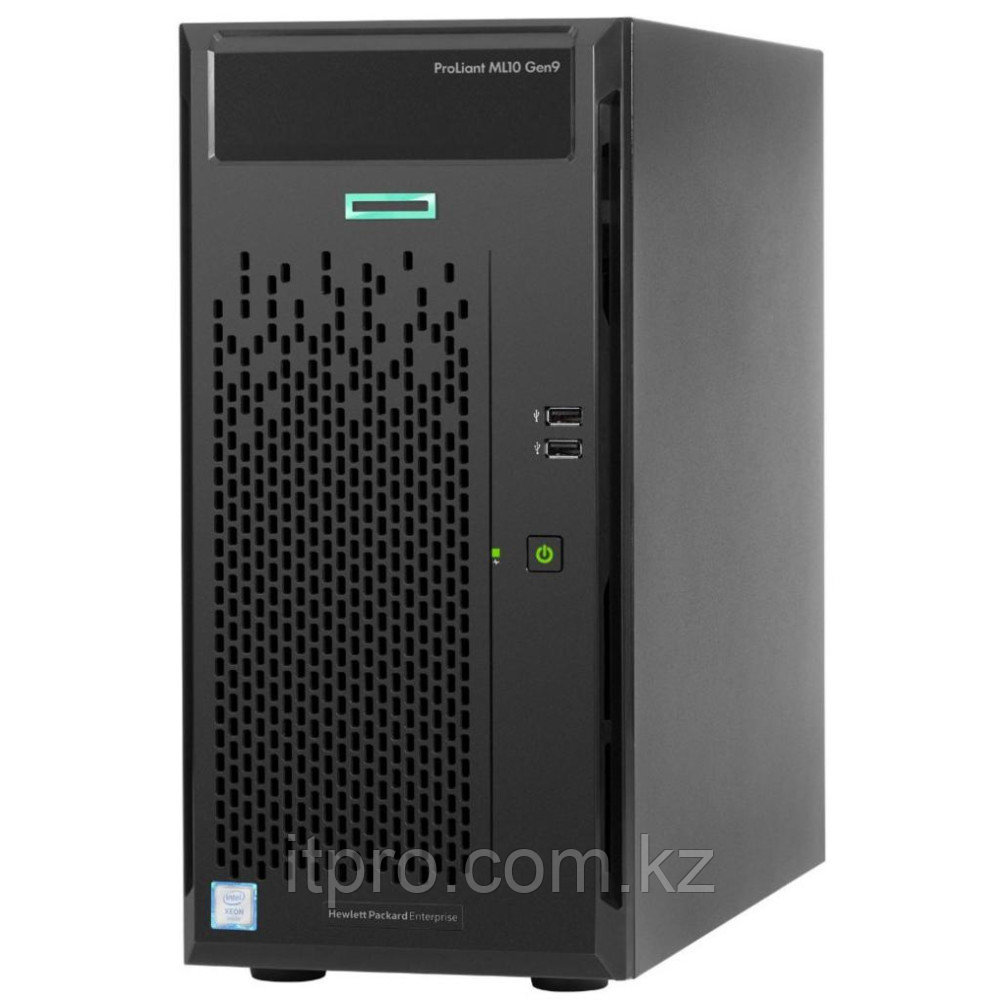 Сервер HPE ProLiant ML10 Gen9 837829-421 (Tower, Xeon E3-1225 v5, 3300 МГц, 4 ядра, 8 МБ)