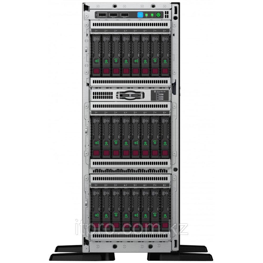 "Сервер HPE ML350 Gen10 P25008-421 (Tower, Xeon Gold 5218, 2300 МГц, 16 ядер, 22 МБ, 1x 32 ГБ, SFF 2.5"", 24 шт)"