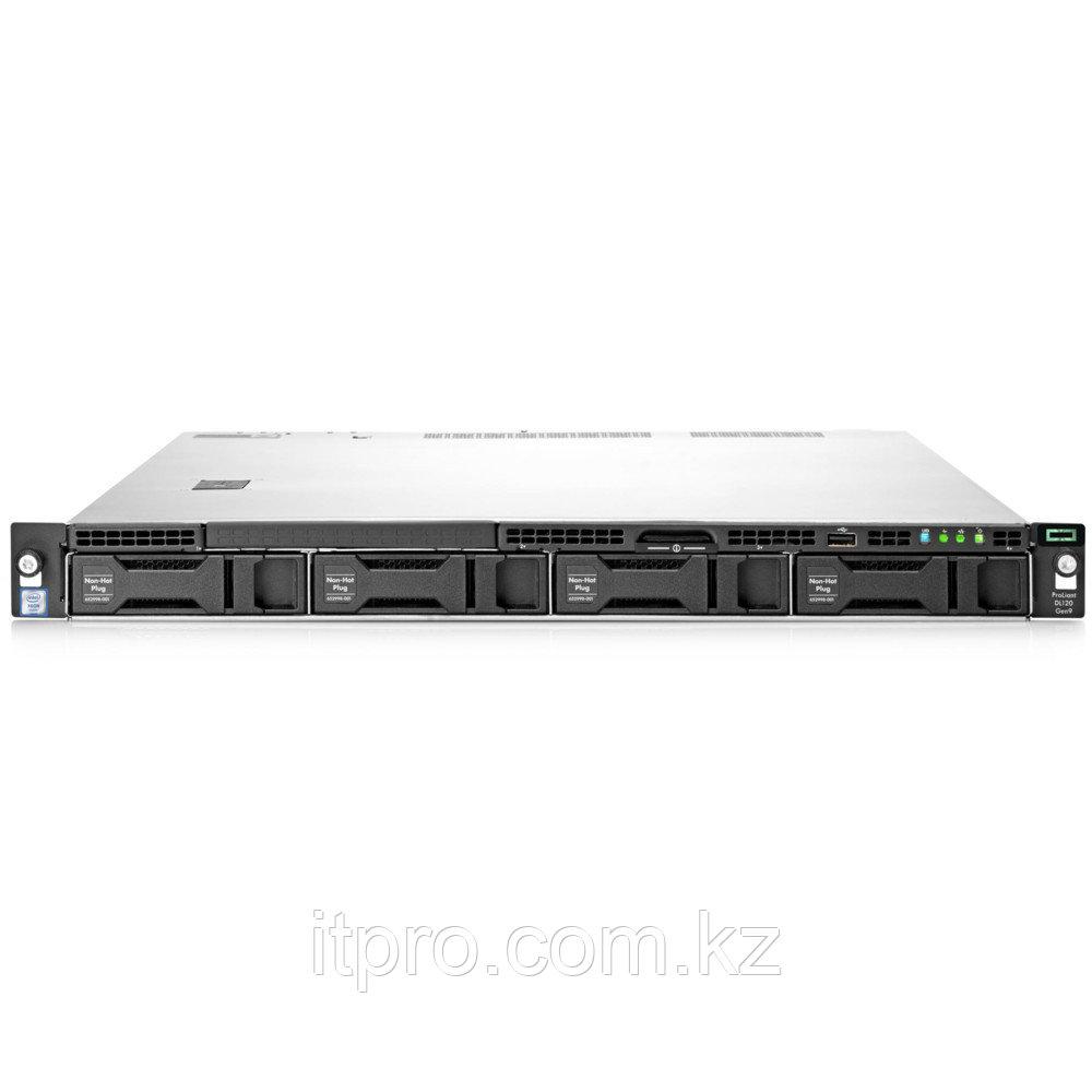 Сервер HPE ProLiant DL120 Gen9 839302-425 (1U Rack, Xeon E5-2603 v4, 1700 МГц, 6 ядер, 15 МБ)