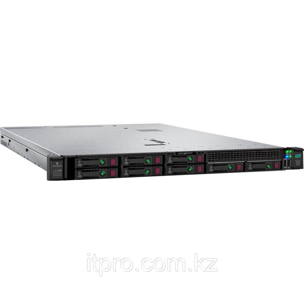 Сервер HPE ProLiant DL360 Gen10 P03630-B21 (1U Rack, Xeon Silver 4208, 2100 МГц, 8 ядер, 11 МБ, 1x 16 ГБ, SFF