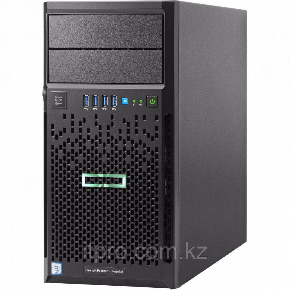 Сервер HPE ProLiant ML30 Gen9 872659-421 (Tower, Xeon E3-1240 v6, 3700 МГц, 4 ядра, 8 МБ)