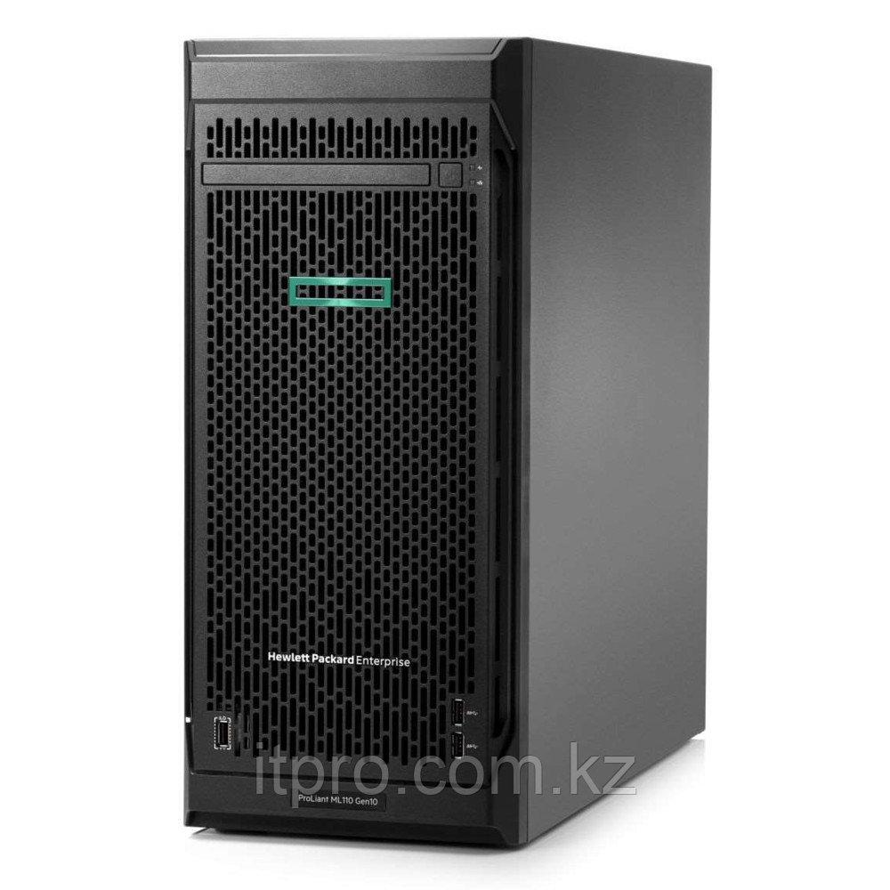 """Сервер HPE ML110 Gen10 P03685-425 (Tower, Xeon Bronze 3106, 1700 МГц, 8 ядер, 11 МБ, 1x 16 ГБ, LFF 3.5"""", 4 шт)"""