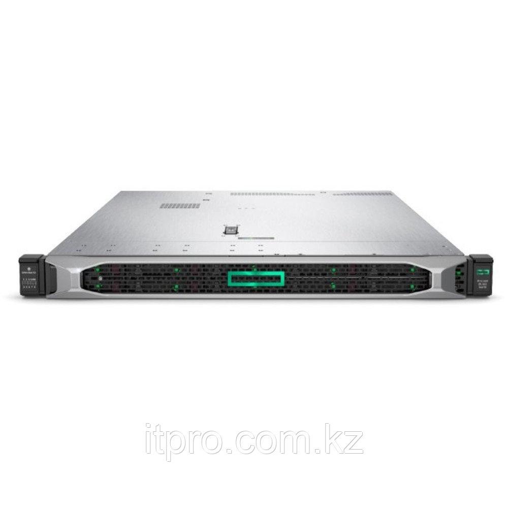 Сервер HPE ProLiant DL360 Gen10 P19776-B21 (1U Rack, Xeon Silver 4208, 2100 МГц, 8 ядер, 11 МБ, 1x 16 ГБ, LFF