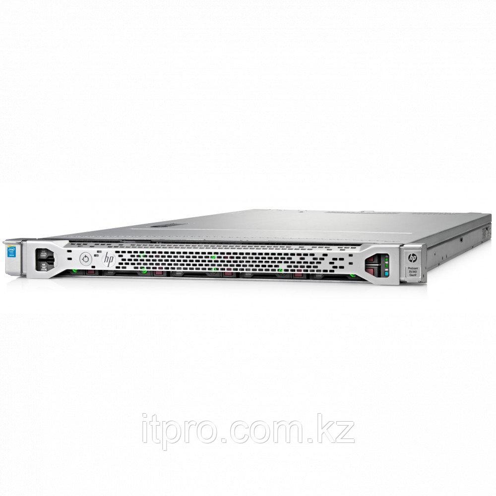 Сервер HPE ProLiant DL160 Gen9 830571-B21 (1U Rack, Xeon E5-2603 v4, 1700 МГц, 6 ядер, 15 МБ)