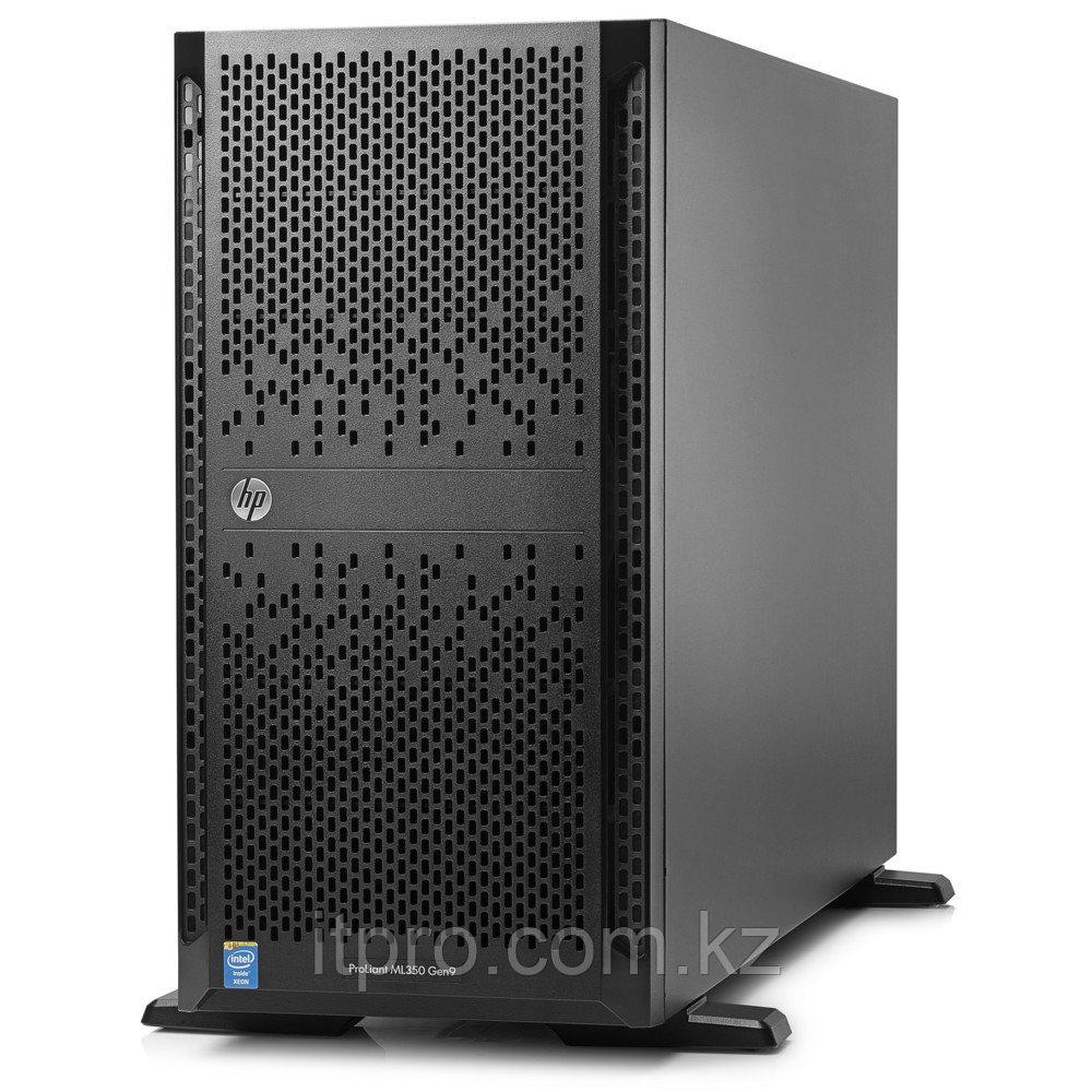 Сервер HPE ProLiant ML350 Gen9 835848-425 (Tower, Xeon E5-2620 v4, 2100 МГц, 8 ядер, 20 МБ)