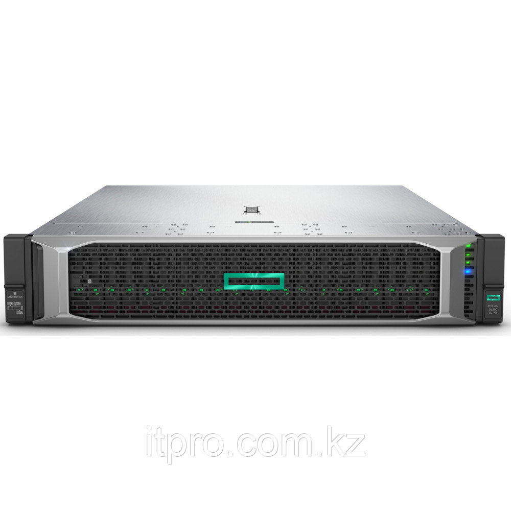 Сервер HPE Proliant DL380 Gen10 875671-425 (2U Rack, Xeon Silver 4110, 2100 МГц, 8 ядер, 11 МБ, 1x 16 ГБ, SFF