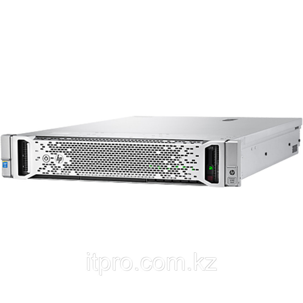 Сервер HPE ProLiant DL380 Gen9 843557-425 (2U Rack, Xeon E5-2620 v4, 2100 МГц, 8 ядер, 20 МБ, 1x 16 ГБ, SFF