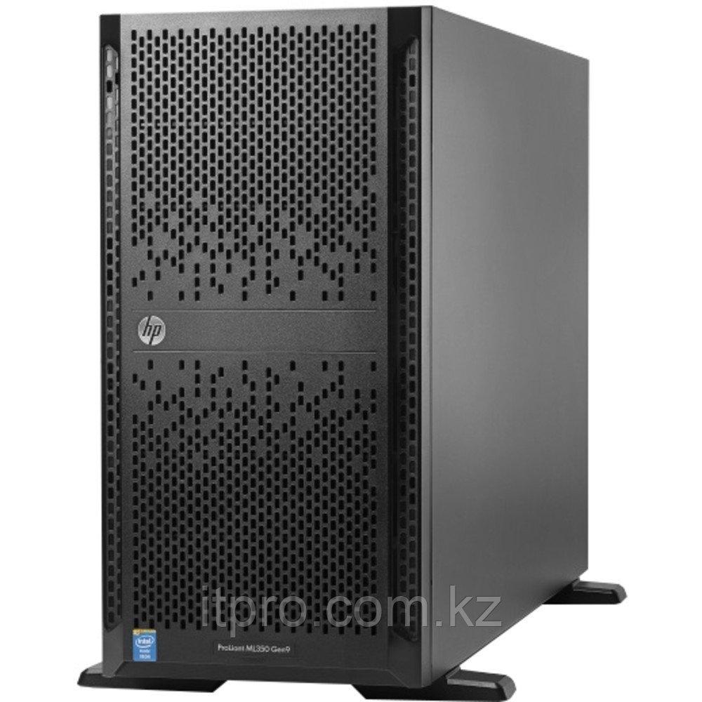 Сервер HPE ProLiant ML350 Gen9 835264-421 (Tower, Xeon E5-2630 v4, 2200 МГц, 10 ядер, 25 МБ, 2x 16 ГБ, SFF