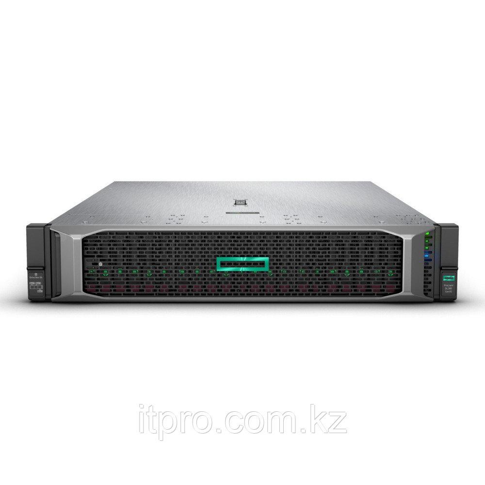 Сервер HPE ProLiant DL385 Gen10 P07597-B21 (2U Rack, EPYC 7702P, 2000 МГц, 64 ядра, 256 МБ, 2x 16 ГБ, LFF